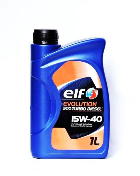 Elf Evolution 500 Turbo Diesel 15W40 1L